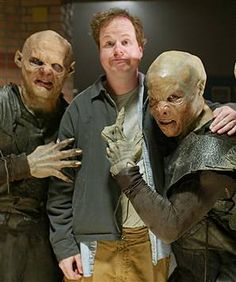Joss Whedon...oh how you formed my malleable little mind...vampires have feelings... lesbians need love too and awkward high schools girls can kick your mother luvin' ass...Buffy...I miss you so :( More