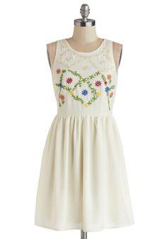 Folksy Fete Dress | Mod Retro Vintage Dresses | ModCloth.com