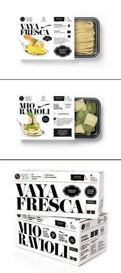 Sandro Desii | Fresh pasta - Packaging