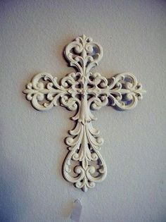 Cross Wall Hanging wrought iron decorative cross wall hanging plaque ornate
