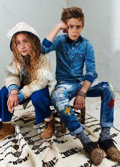 Amsterdams Blauw kids winter 2016 2017 New collection #denim #kids #coolkids
