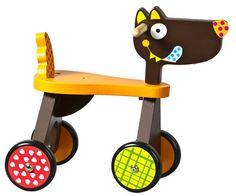 Crazy Wolf Ride On