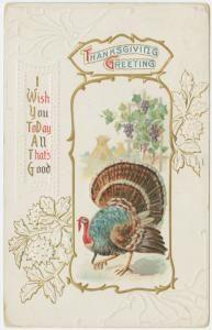Image ID: 1588286  Thanksgiving greeting. (1912)