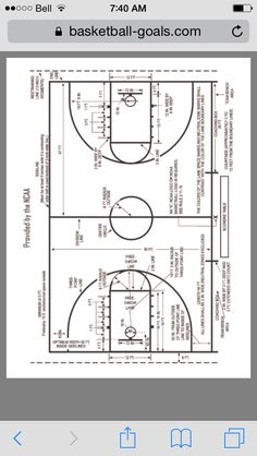 Basketball backboard dimensions google search love it for Build your own basketball court