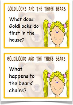 Goldilocks Reading Prompts - Treetop Displays - A set of 24 reading prompt A5 flashcards for the story of Goldilocks and the Three Bears. Each prompt links to the APP assessment guidelines. A fantastic resource for Foundation Stage and KS1. Visit our website for more information and for other printable resources by clicking on the provided links. Designed by teachers for Early Years (EYFS), Key Stage 1 (KS1) and Key Stage 2 (KS2).