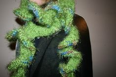 EXTRA Long Ruffle Potato Chip Scarf by TheWeekendCrafter on Etsy, $35.00
