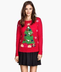 fast fashion damen jumper rudolph weihnachten druck eur 36 38 schwarz anziehsachen