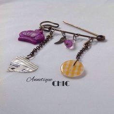 Vintage Chic Victorian Cloak/Kilt Pin