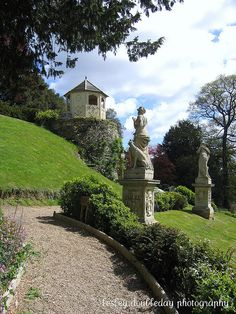 the duchesses garden at belvoir castle, Leicestershire