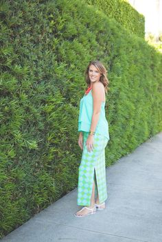 How to Style a Spring Maxi Skirt | All For Color