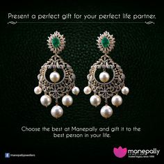 Choose the best at Manepally Jewellers and gift it to the best person in your life.
