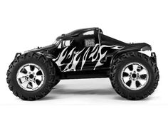 RedCat Racing Earthquake 3.5 Truck 1/8 Scale Nitro SH Engine 2.4GHz Remote Cont. SEMI-BLACK