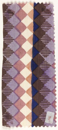 love the colors and pattern of this swatch