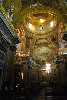 Techo de la iglesia romana Il Gesu