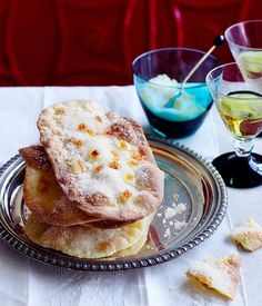 Australian Gourmet Traveller Spanish sweets recipe for tortas de aceite (sweet wafers).