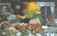 , The Art of E-commerce Children's Book Illustration, Watercolor Illustration, Illustrations, Elves And Fairies, Believe In Magic, Scandinavian Christmas, Fantasy Creatures, Medium Art, Faeries