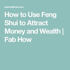 how to use feng shui to attract love