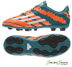 943924279 Adidas Messi Football Kids Junior Boys Shoes 10.4 Soccer FXG Boots M32718