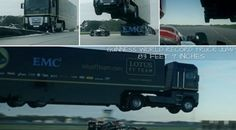 Giant truck jumps over speeding Formula 1 car Giant Truck, Jump Over, Formula 1 Car, Guinness World, Auto News, Latest Cars, World Records, Electric Cars, Trucks