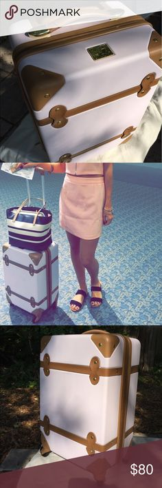 14d3f11a85 BABY PINK DVF SUITCASE! Gift from ex