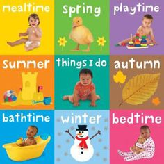 My Little Chunky (Set of 9 Books) - Baby Day — Featuring nine chunky, mini board books which little hands will love to hold. Familiar events in baby's day are introduced in a colorful and accessible way to inspire and capture children's interest.