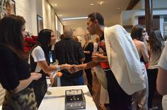 Designer Monique Pean on #FNO at #LevoLabs for the Plum Alley launch.