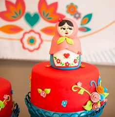 Playful Nesting Doll Party Theme {First Birthday}