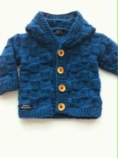 Riikka Was here: Ruutu huppari Knitting For Kids, Baby Knitting Patterns, Baby Kids, Baby Boy, Casual Hijab Outfit, Knitted Baby Clothes, Knit Vest, Kids And Parenting, Knit Crochet