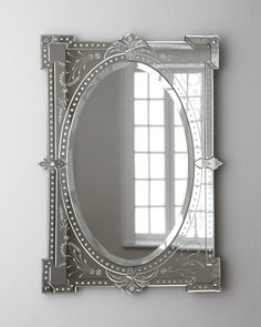Shop Madeline Baroque Mirror at Horchow, where you'll find new lower shipping on hundreds of home furnishings and gifts. Baroque Mirror, Venetian Mirrors, Mirror Mirror, Floor Mirrors, Sunburst Mirror, Mirror Ideas, Mirrored Furniture, Furniture Decor, Royal Furniture