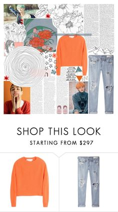 """paradise lost"" by iced-lemons ❤ liked on Polyvore featuring Marni, rag & bone/JEAN, adidas and Citizens of Humanity"