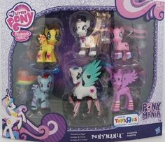 Gothic MLP Toys R Us set (Gothic Rarity and Rainbow Dash? YES!!)