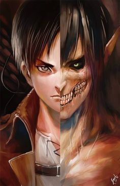 Browse shingeki no kyojin Attack on titan collected by Thuychu and make your own Anime album. Sakura Anime, Manga Anime, Fanarts Anime, Manga Art, Anime Characters, Eren Aot, Attack On Titan Eren, Ereri, Ymir