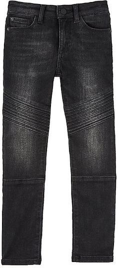 DL 1961 Chloe Cotton-Blend Moto Jeans