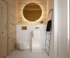 Drewniany minimalistyczny dom   Proj: Elementy   IH - Internity Home Toilet, Bathroom, House, Country, Fotografia, Washroom, Flush Toilet, Home, Rural Area