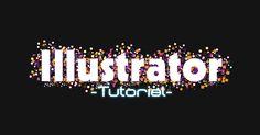 Illustratorで華やかなパーティー感のあるテキストを作るチュートリアルをご紹介します!