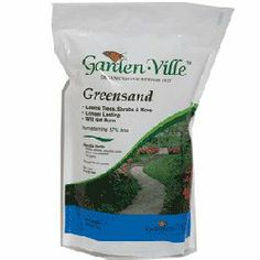 Garden-Ville Greensand 5 lb. Bag by Garden-Ville. $14.97. Organic Soil Amendment. Can be applied anytime during the year. Dry and easy to spread. 5 lb. covers approximately 700 square feet. Safe to handle and odorless. Rich in iron (17% iron), Greensand has been used for more than a century to ammend iron-deficient, high alkaline soils. Non-burning and easy to spread or mix, Garden-Ville Greensand is an excellent soil conditioner for lawns, gardens, trees and shrubs...