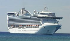Princess Cruises Caribbean Princess  - Canada & New England ...