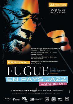 Festival Fugue en pays Jazz. Du 21 au 25 août 2013 à Capbreton.