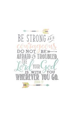 Joshua 1:9 Bible Verse