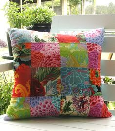 Hey, I found this really awesome Etsy listing at https://www.etsy.com/listing/258266924/pillow-bright-colorful-kaffe-fassett