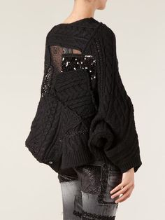 Shop Junya Watanabe Comme Des Garçons knitted patchwork sweater in from the world's best independent boutiques at farfetch.com. Over 1000 designers from 300 boutiques in one website.