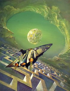 Bruce Pennington - The Man in the Maze by myriac, via Flickr | Click through for a larger image