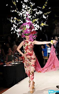 Butterflies and Orchids headpiece