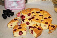 PRAJITURA CU GRIS, VISINE SI SMANTANA - Flaveur Pancakes, Cookies, Breakfast, Desserts, Food, Sweets, Tart, Crack Crackers, Postres