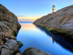 Skallen Light house by Peter Olsson on 500px