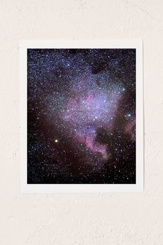 Guido Montanes North American Nebulae. The Milky Way Art Print