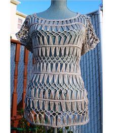 Abierto puntada algodón túnica hecha por encargo en por DearAlina, $139.00