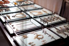 Jewelry display ideas from Glamour mag