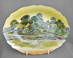 Royal Doulton vintage large china bowl