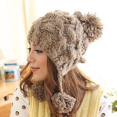 Women's Winter Warm Kintted Cap- wendybox.com